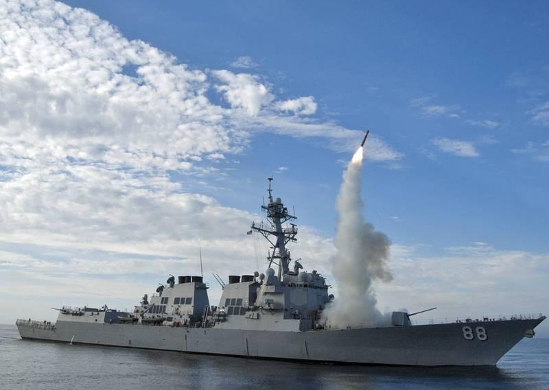 美軍潛艦部隊負責人證實,美國海軍將在太平洋艦艇配備更多反艦巡弋飛彈,其射程達1000公里,將可擴展美軍艦艇在太平洋的覆蓋範圍,有效壓制共軍艦隊。圖為美軍發射戰斧飛彈畫面。(歐新社)
