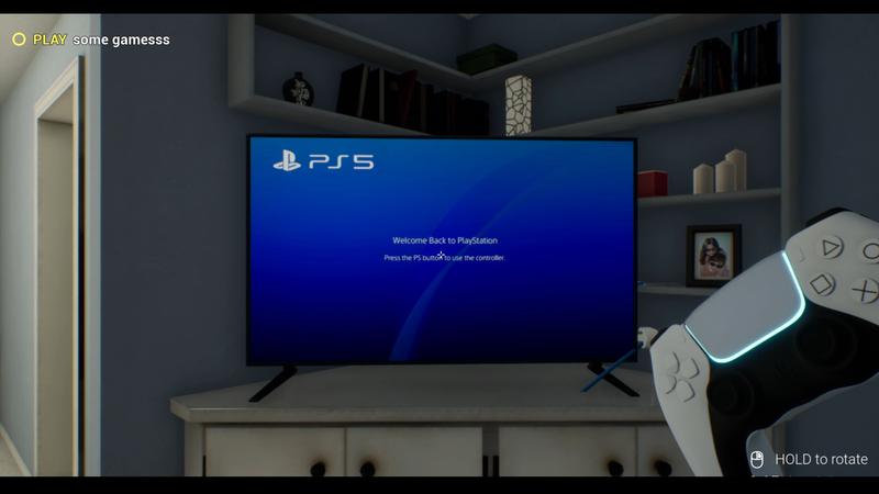 搞笑遊戲《PS5模擬器》大受歡迎。(圖擷取自《PS5模擬器》下載頁面)