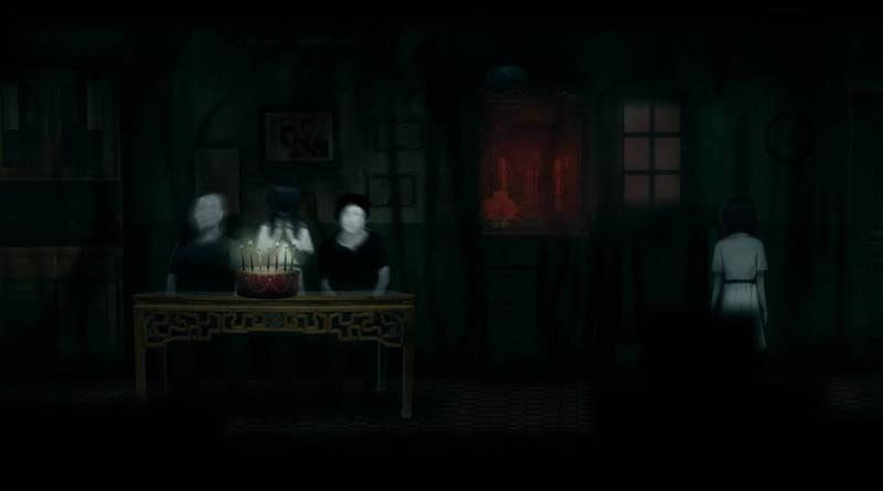 中國StarWish Games工作室開發的恐怖遊戲《鬼哭嶺》近日在遊戲平台Steam公布畫面。(擷取自Steam)