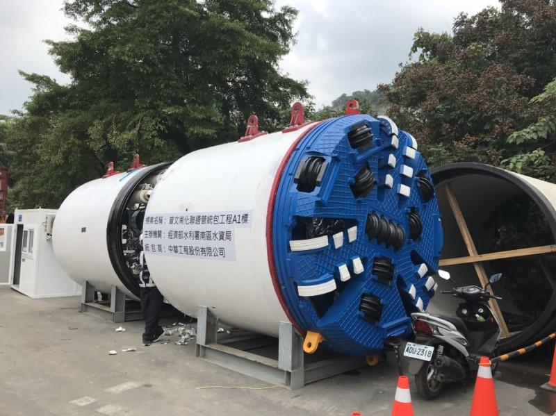曾文南化聯通管工程目前已陸續發包,南水局表示,工程預計2024年完工,屆時可讓台南水情更有效調配運用。(圖由南水局提供)