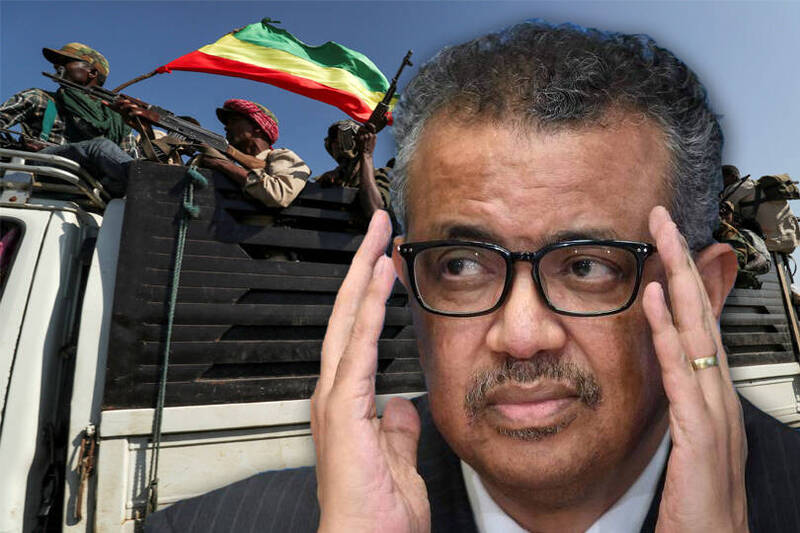 譚德塞(見圖)被衣索匹亞政府軍參謀總長朱拉痛批,在政府軍戡亂時扯後腿,「這傢伙與叛軍根本是一夥的」。(本報合成)