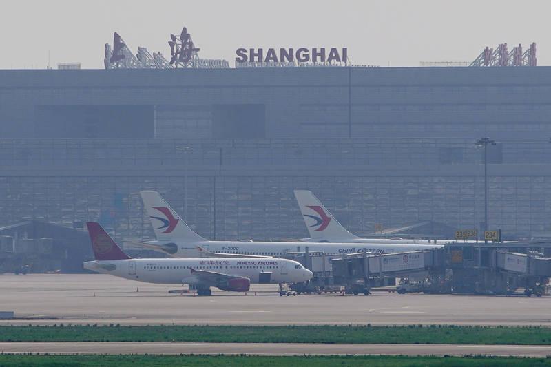 上海20日再新增2例武漢肺炎確診病例。(路透檔案照)