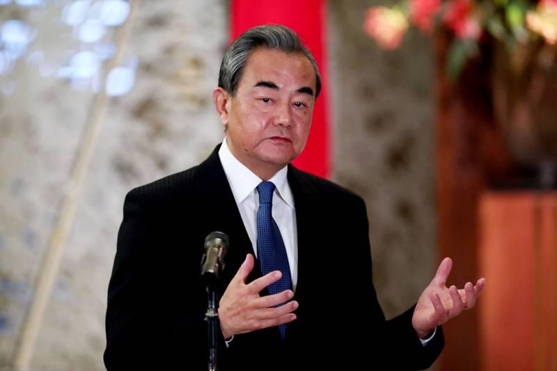 中國外交部長王毅預定24日訪日兩天。(美聯社)