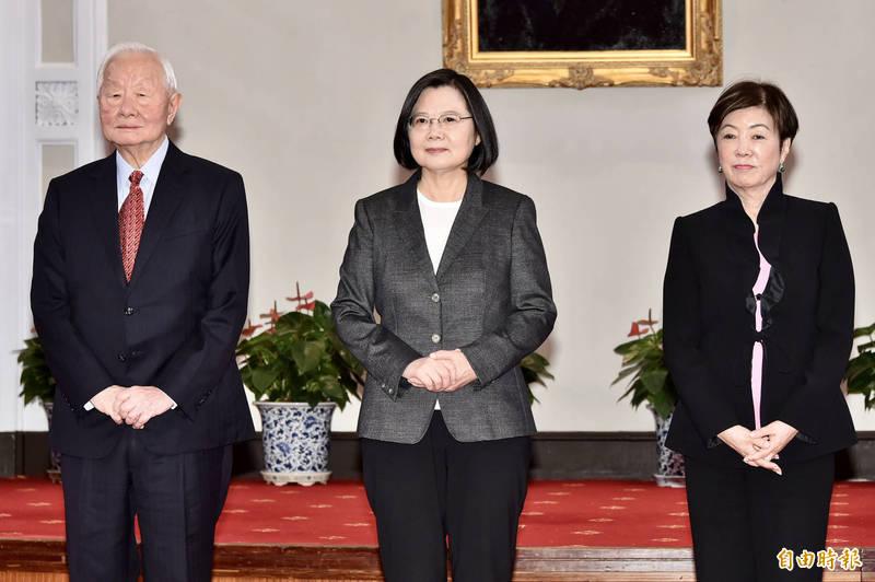 公布APEC重大進展 小英大讚張忠謀:台灣有你真好!