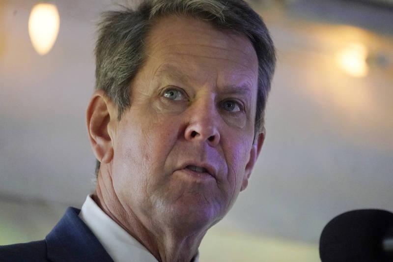喬治亞州州長肯普承諾會將票投給拜登。(美聯社)