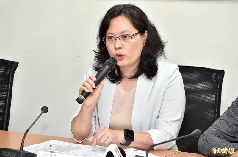 台灣民眾黨立法院黨團總召賴香伶。(資料照)