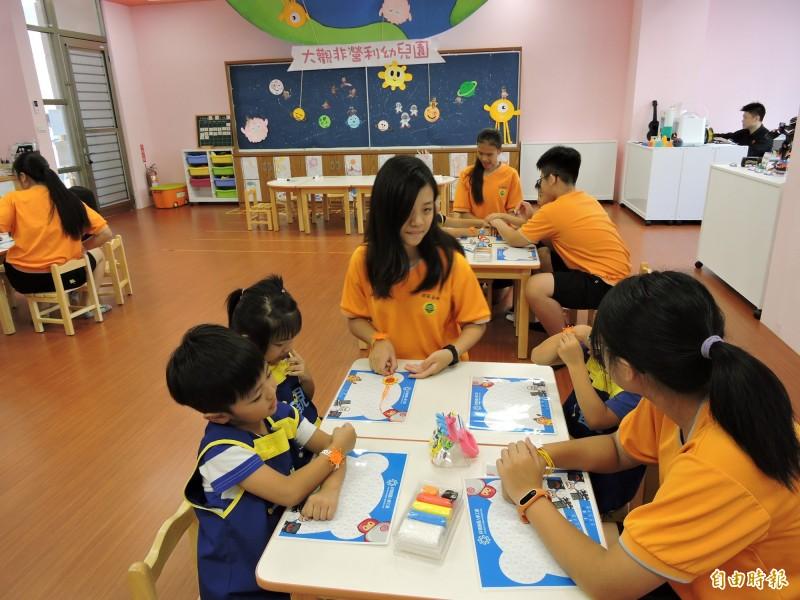 新北市目前僅22家非營利幼兒園,教育局表示,明年將再增設4家,預計可招收500名以上幼生。(記者賴筱桐攝)