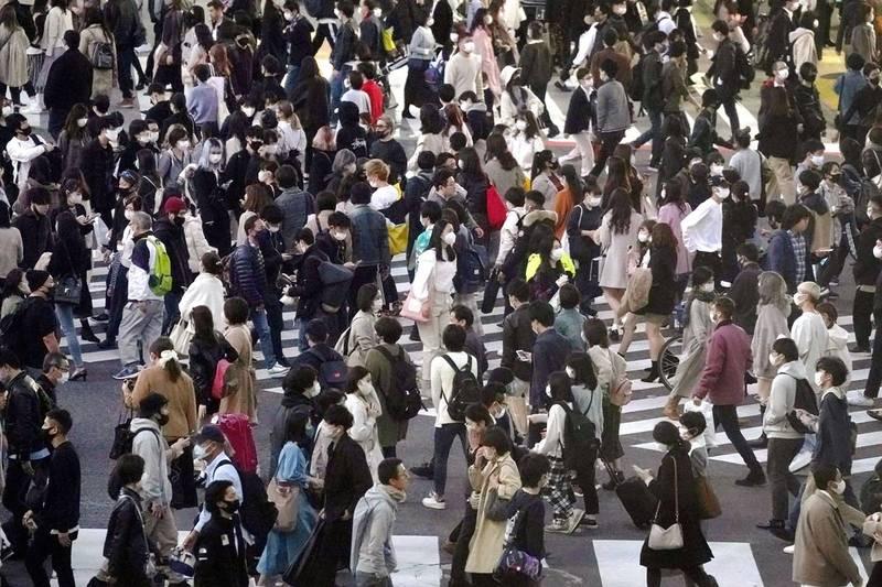 澀谷區男性居民吉田和人在16日時,於住家附近的公車站內毆打女性遊民大林三佐子致死。圖為澀谷區街景,示意圖。(美聯社)