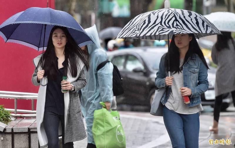台灣未來一週迎來2波東北風,北東地區將有降雨。(資料照)
