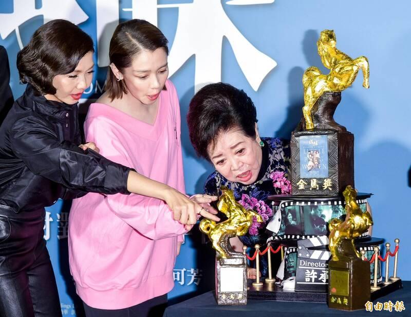 影后陳淑芳「5次上台」 網友狂讚「金馬57的MVP」