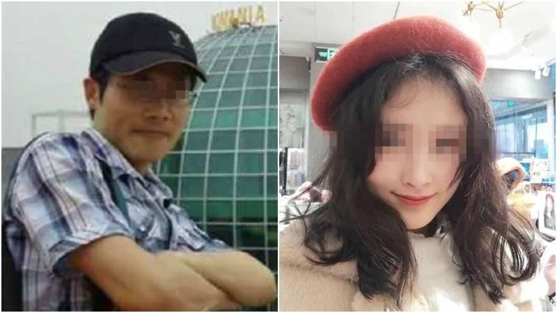 中國安徽工程大學爆師生戀,老師求復合被拒狂殺女學生48刀致死。(圖擷取自微博畫面)