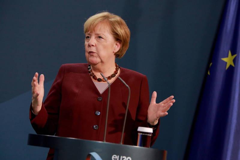 G20承諾將確保全球公平分配疫苗,德國總理梅克爾則擔憂窮國達成疫苗協議的進展緩慢。(歐新社)