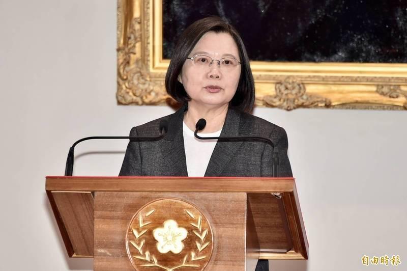 總統指出,英語能力是台灣走向世界的必要能力,期盼透過2030雙語國家政策的推動,讓年輕世代更有自信往外走出去。(資料照)