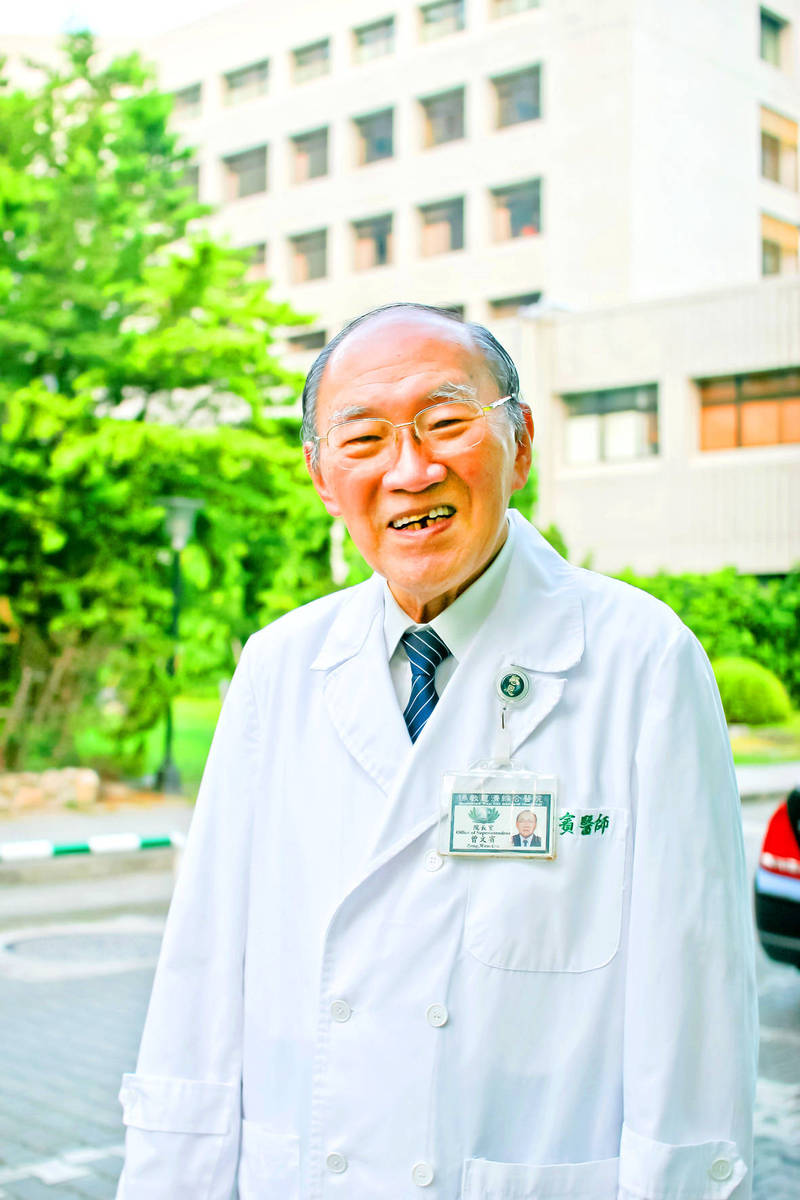 """Former Hualien Tzu Chi Hospital superintendent Tseng Wen-pin, known as one of Taiwan's """"fathers of blackfoot disease,"""" is pictured in Hualien County in an undated photograph. Photo courtesy of Hualien Tzu Chi Hospital"""