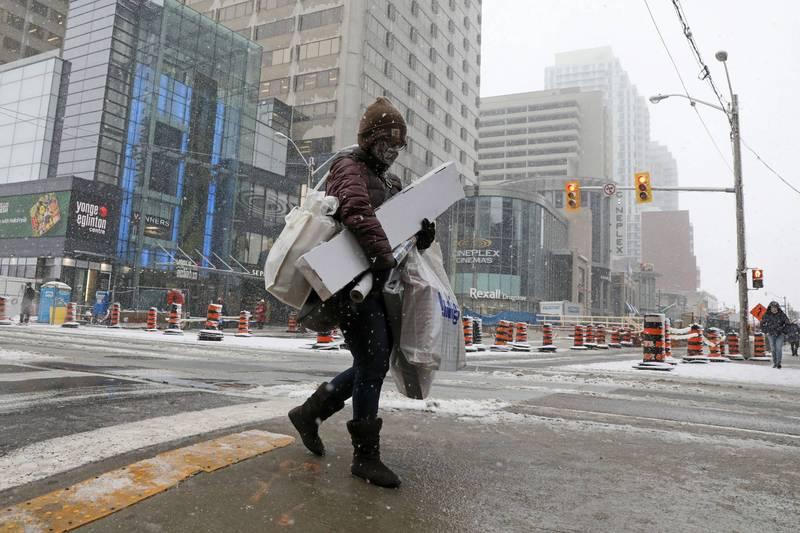 加拿大最大城多倫多今日起將封鎖4週。(路透)