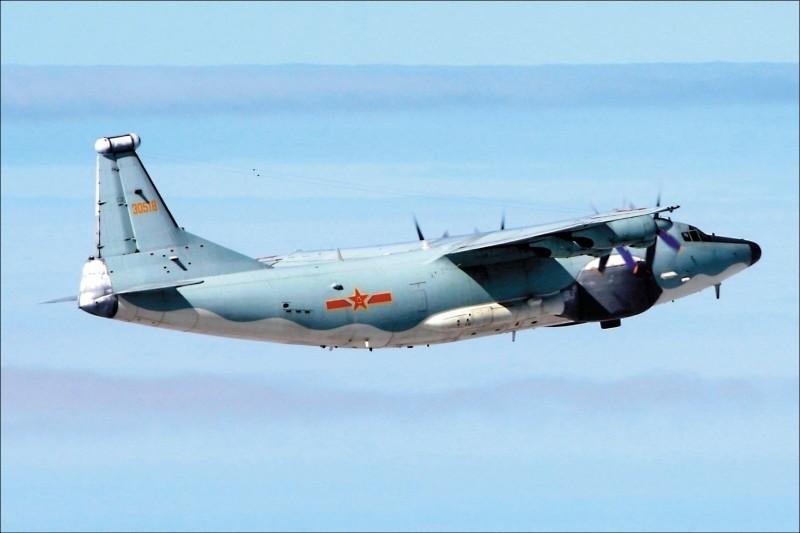 中共軍機近來頻繁襲擾我西南空域。(國防部提供)