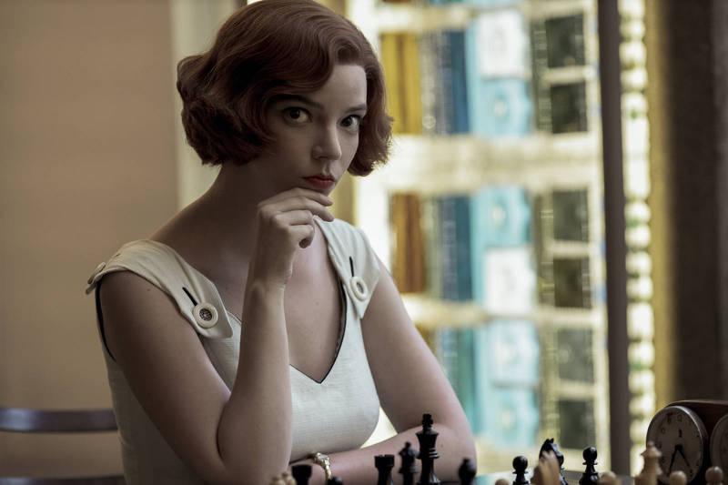 引爆西洋棋熱潮 「后翼棄兵」創下新觀看紀錄