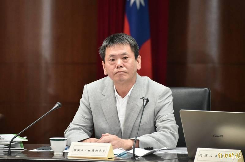 立法院國民黨團總召林為洲(見圖)表示,23日台北市黨部是在此辦理慶生會,過去立法院也常外借場地辦活動。(資料照)