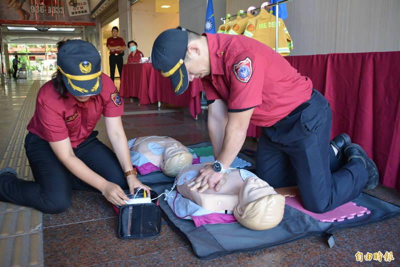 CPR過程示意圖。(資料照)
