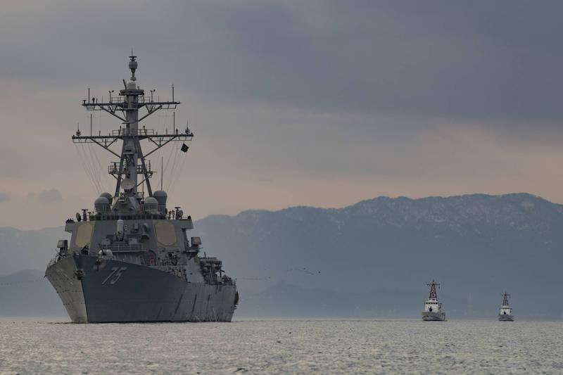 美國海軍飛彈驅逐艦「唐納德·庫克號」近日駛入黑海,將與北約盟國與夥伴進行例行任務,圖為驅逐艦「唐納德·庫克號」。(擷取自美國海軍官網)