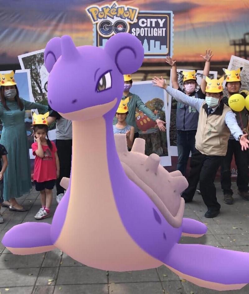 寶可夢Pokémon GO City Spotlight1日快閃活動,南市拿下城市競賽全球獨家獎勵,市府歡迎玩家們11月28、29日再訪台南抓寶樂。(圖由南市觀旅局提供)