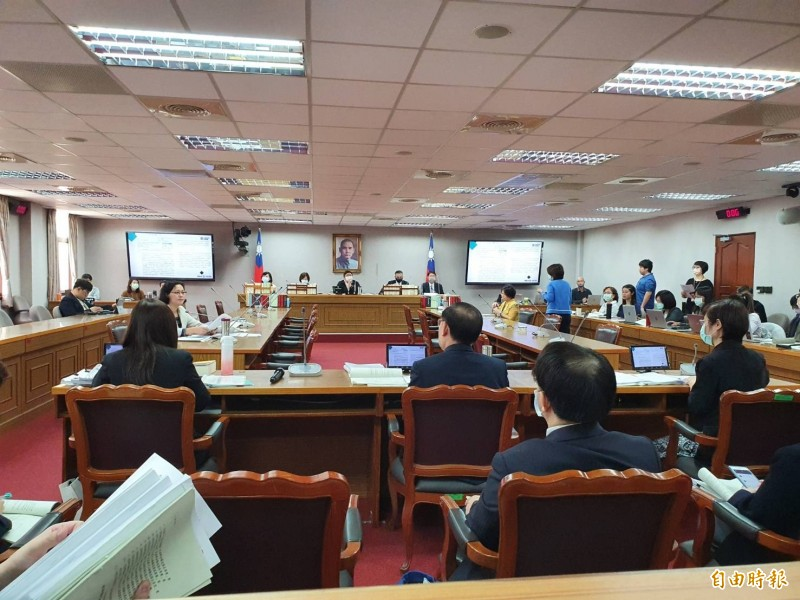 立院司法及法制委員會今併案審查「民法部分條文修正草案」。(記者謝君臨攝)