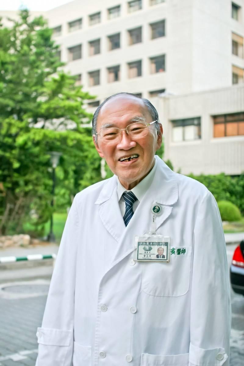 台灣烏腳病之父曾文賓22日逝世,享耆壽98歲。(花蓮慈院提供)
