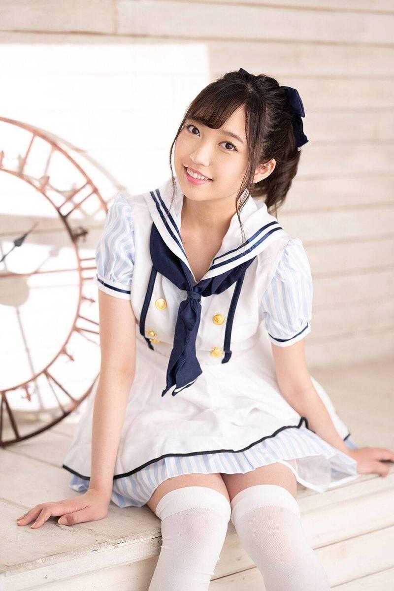 日本地下偶像團體成員高山沙也加退團短短2週,立刻以八乙女奈奈身分AV出道。(圖擷自「八乙女 なな」推特)