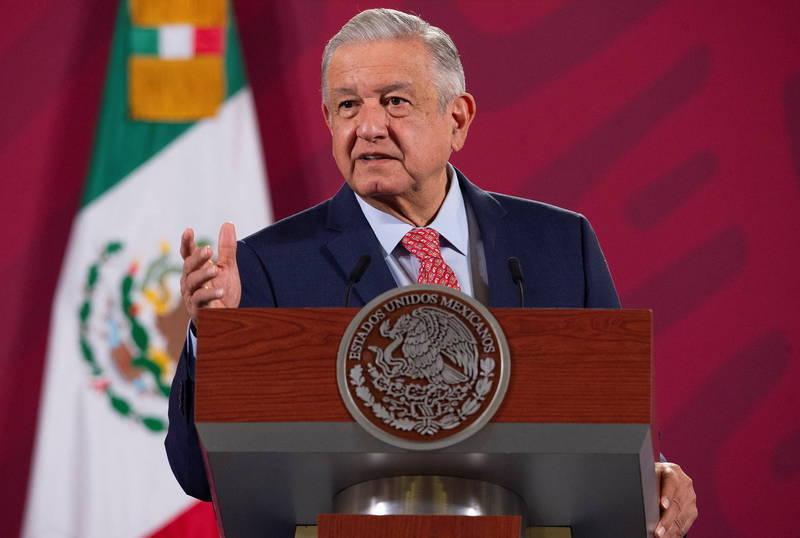 墨西哥總統羅培茲(見圖)拒絕承認拜登勝選。(歐新社)