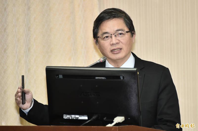 行政院秘書長李孟諺今日出席內政委員會備詢。(記者塗建榮攝)