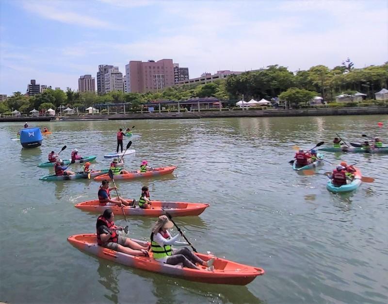 高市愛河水域開放計畫回響熱烈。(記者王榮祥翻攝)