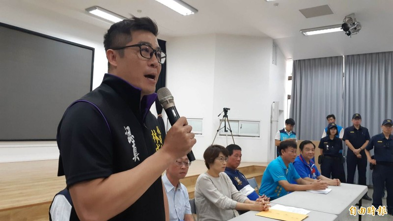 台東縣議員林威志涉詐領助理費,今天被檢方聲押,法院裁定100萬元交保。(資料照)
