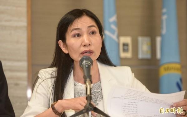 食藥署署長吳秀梅表示從2021年起,所有外國進口豬肉都要逐批查驗。(資料照)