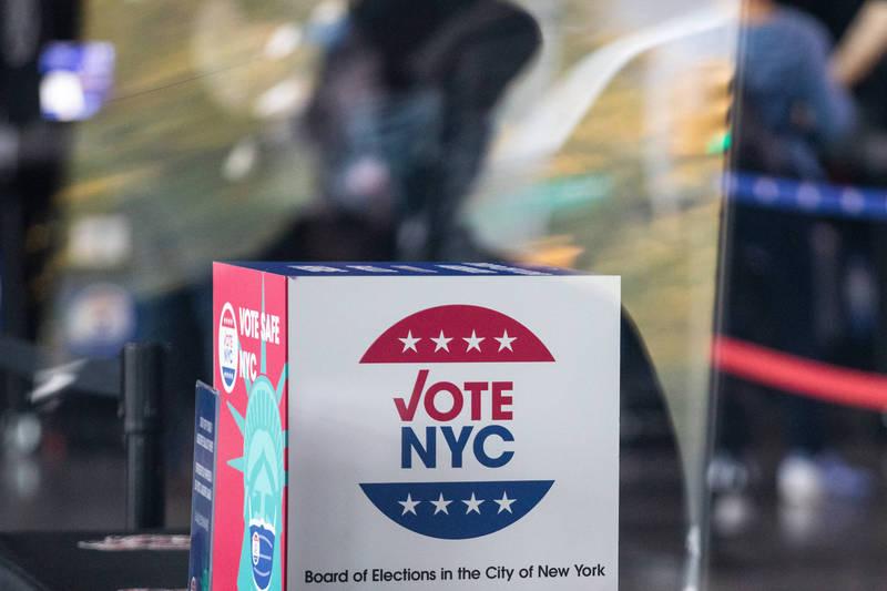 紐約州國會第22選區發現死人郵寄選票,法官下令禁止發布選舉最終結果。(彭博檔案照)