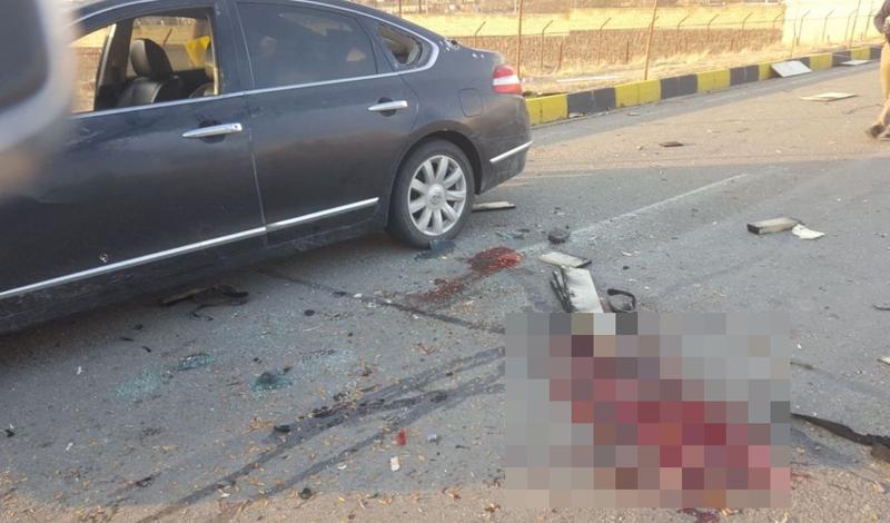 伊朗核武專家被槍殺身亡 現場血跡斑斑