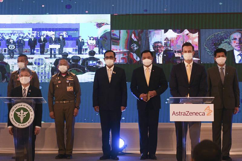 泰國撒57億訂購2600萬劑牛津疫苗 明年中交貨