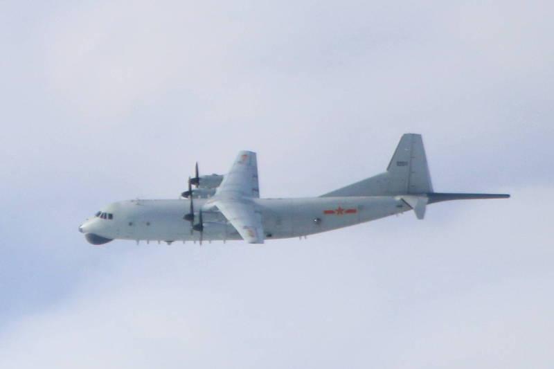 中共軍機今天一早8時又出現在西南空域。示意圖。(國防部提供)