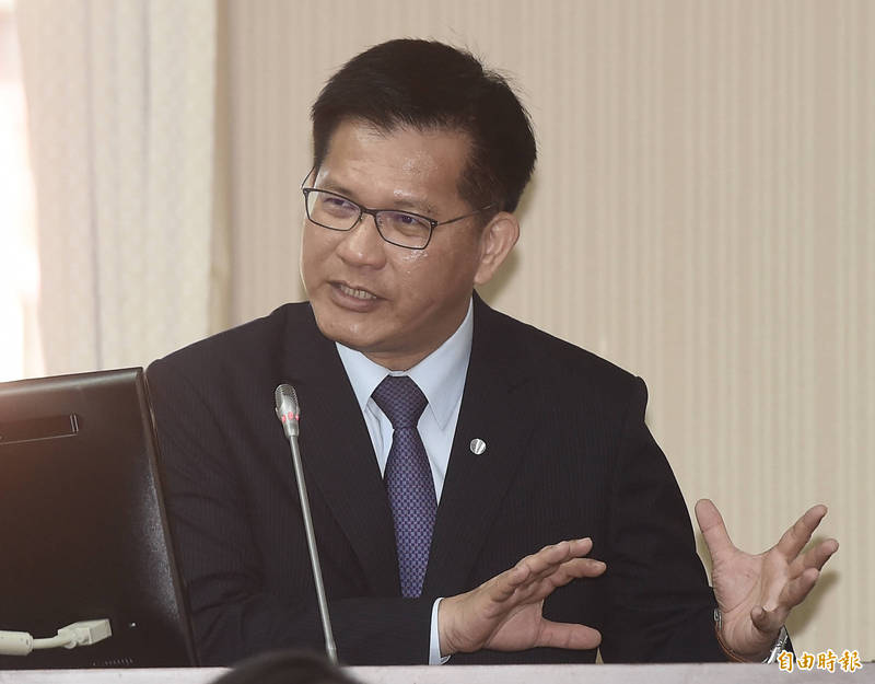 針對立法委員楊曜批評交通部長林佳龍,林佳龍部長辦公室今天做出回應。(資料照)