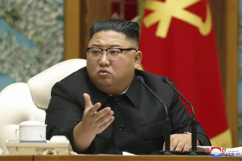 北韓至今對外聲稱零確診。圖為北韓領導人金正恩。(美聯社)
