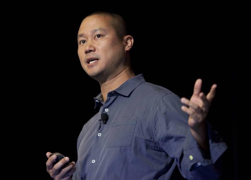美國網路鞋商Zappos台裔執行長謝家華(Tony Hsieh)最近退休,孰料27日卻傳出過世的消息,享年46歲。(美聯社)
