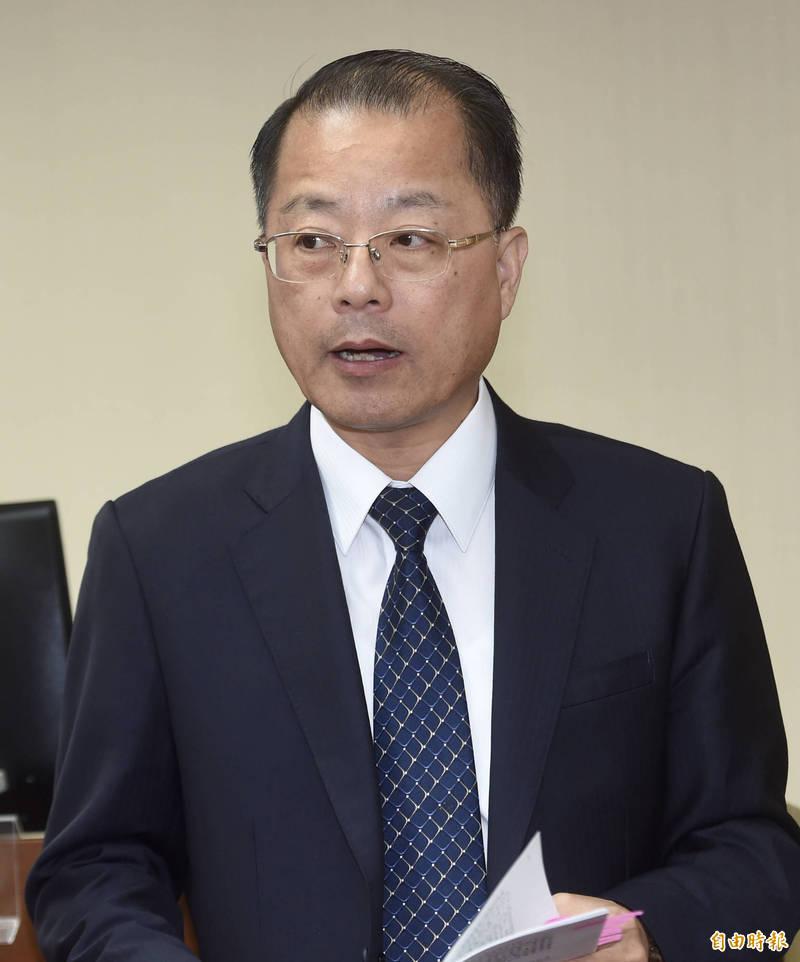 刑事警察局長黃明昭。(資料照)