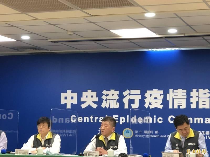 中央流行疫情指揮中心今天宣布12月4日起全面暫停引進印尼移工來台工作2週。(記者楊媛婷攝)