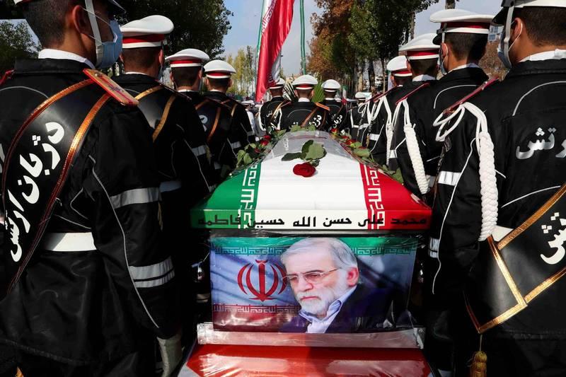 伊朗官方媒體指控暗殺法克里薩德的凶器是以色列製造。(路透)