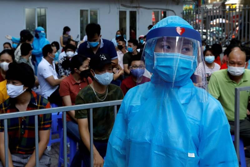 越南時隔87天再度出現境內感染的武漢肺炎病例。(路透)