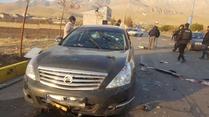 有伊朗媒體報導,核武之父遭暗殺是由遙控機槍遠端遙控所為,全程沒有任何刺客在場。(路透)