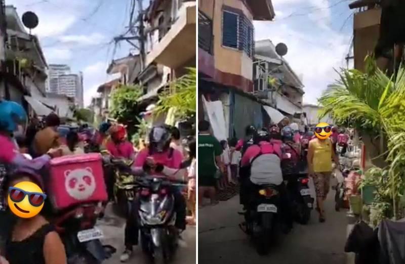 菲律賓宿霧市1名7歲小女孩於上月25日利用外送平台訂餐,沒想到遇上網路及平台app問題,導致訂單重複送出42次。(圖翻攝自臉書)