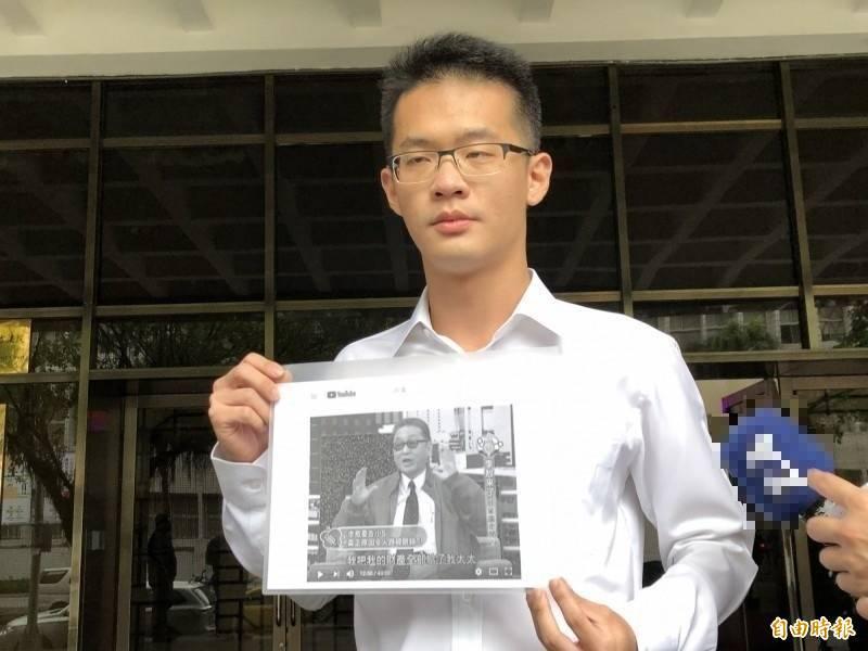 李戡(圖)指控叔叔李放,將李敖爸媽骨灰拿走。(資料照)