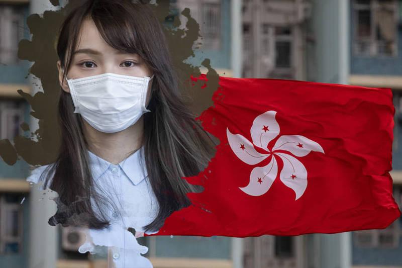 日本網友紛紛表示「為她的安全祈禱」、「中國就是人類的敵人」、「我好擔心她的健康」。(彭博,本報合成)