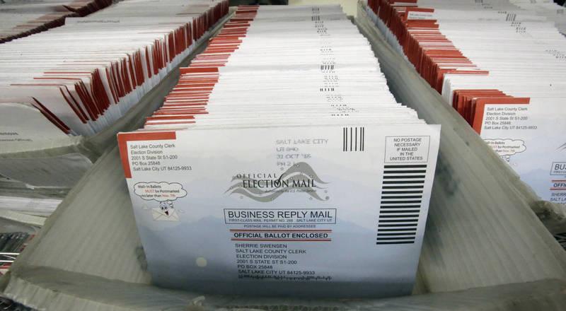 議員指控:郵寄選票收146萬張開出逾258萬