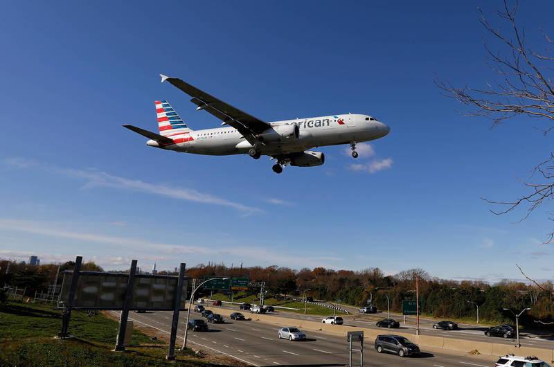 美國航空與聯合航空原訂本月運行美國直飛上海的航班。(歐新社)